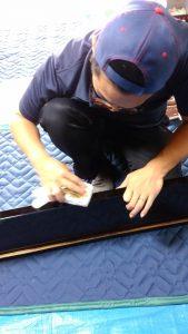仏壇,洗浄,漆磨き