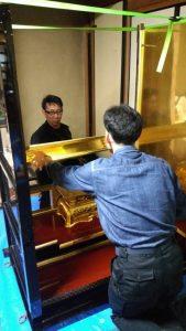 金仏壇 洗浄 修復