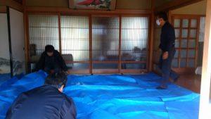 金仏壇 洗浄