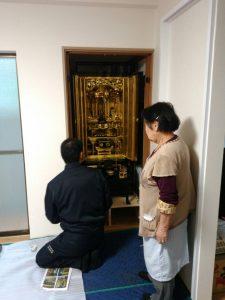 仏壇,飾り付け