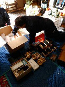仏壇,洗浄,クリーニング