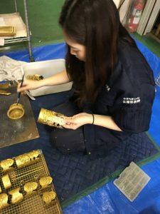 仏壇,洗浄,金具,再生