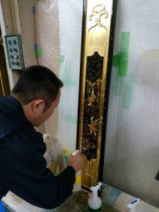 仏壇,クリーニング