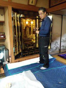 仏壇,クリーニング,大阪市