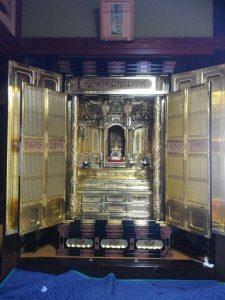 仏壇,洗浄【後】