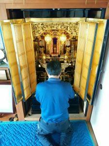 仏壇,洗浄,【納品】