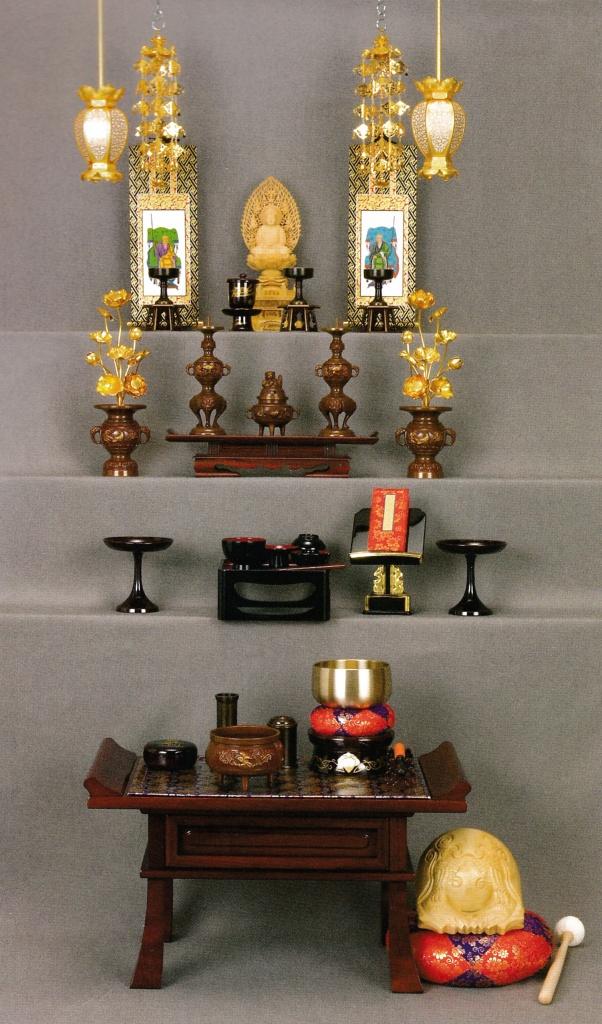 曹洞宗 仏壇の飾り方