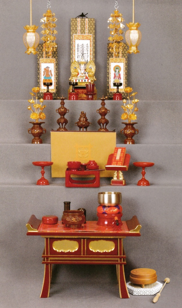 日蓮宗 仏壇の飾り方