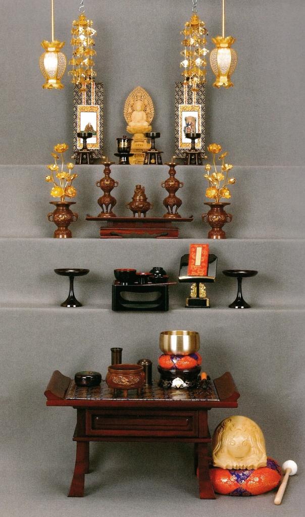 臨済宗妙心寺派 仏壇の飾り方