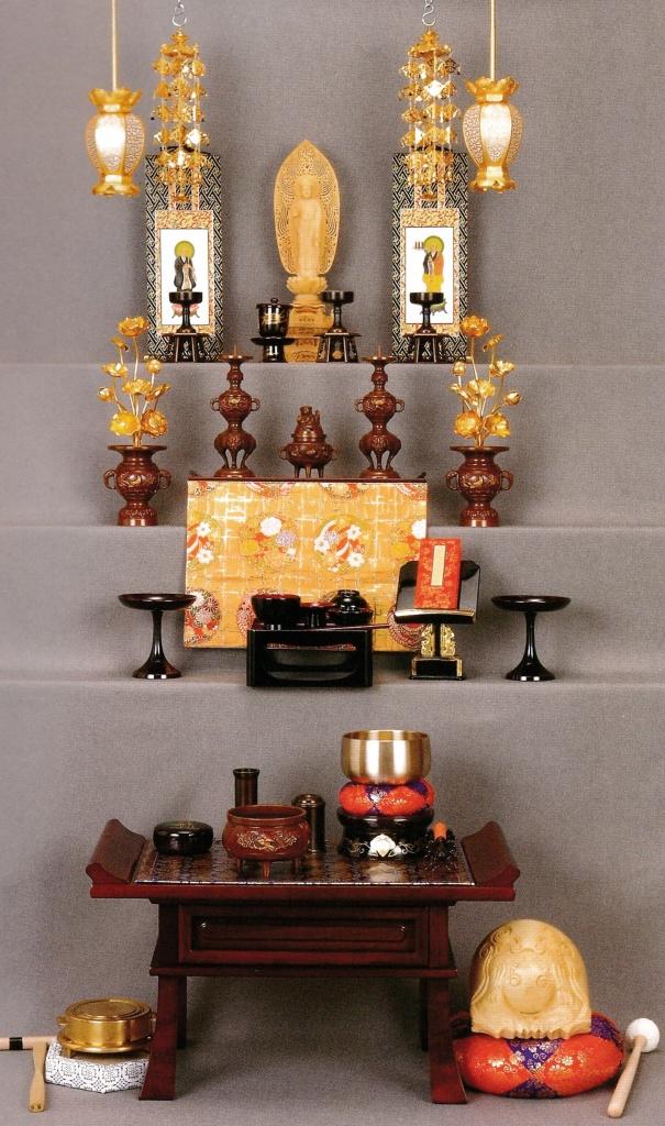 浄土宗 仏壇の飾り方