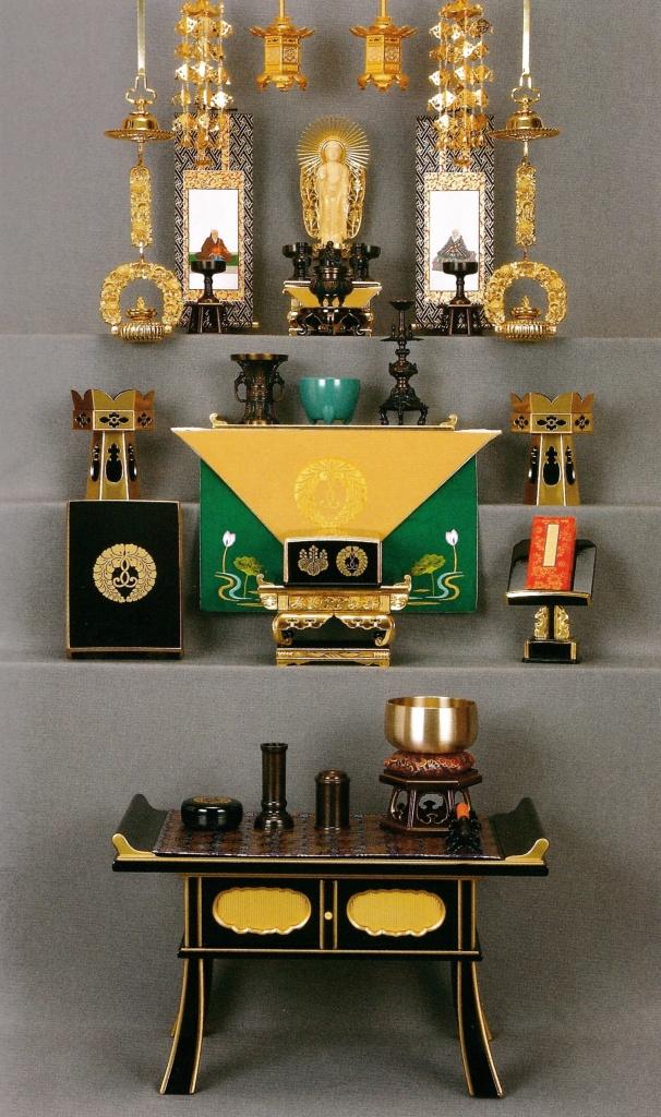 浄土真宗本願寺派 仏壇の飾り方