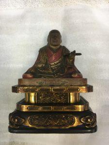 仏像の彩色【修復前】
