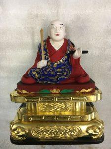 仏像の彩色【修復後】