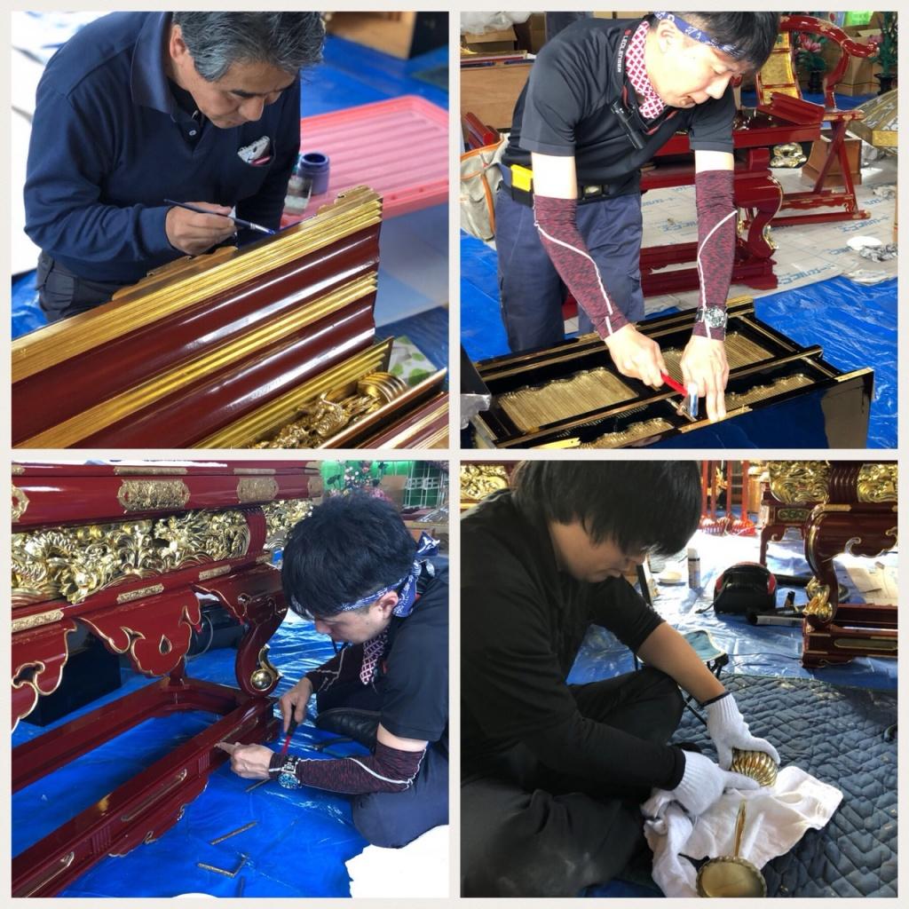 寺院修理をとおして悠久の昔より受け継がれた寺院の荘厳を大切に守ります。